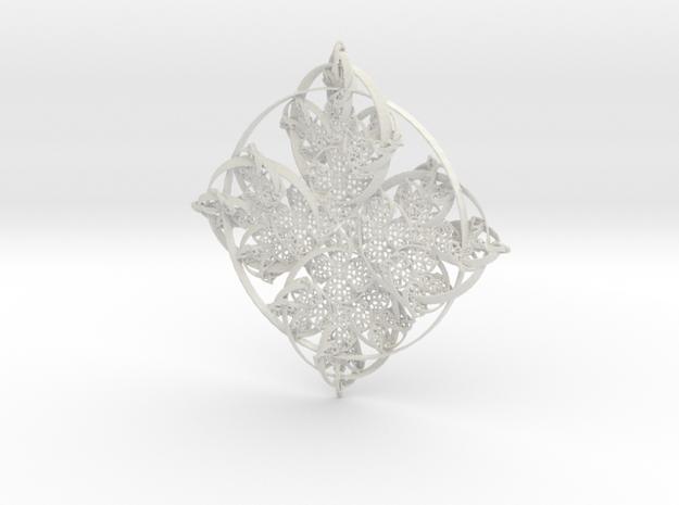 Ringed in White Natural Versatile Plastic