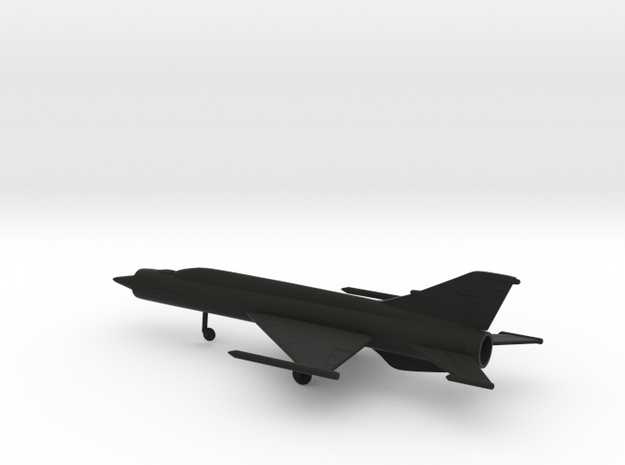 MiG E-152P/M (E-166) in Black Natural Versatile Plastic: 1:200
