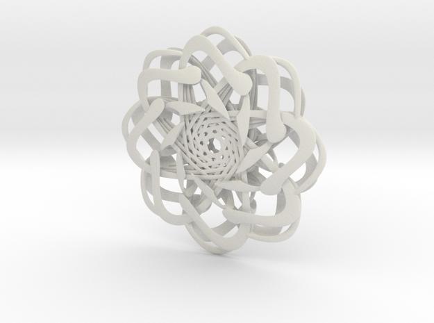 Four in White Natural Versatile Plastic