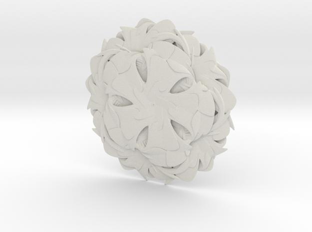 Tongues-W in White Natural Versatile Plastic