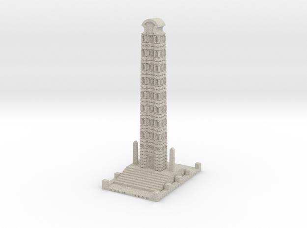 The Obelisk Of Axum in Natural Sandstone