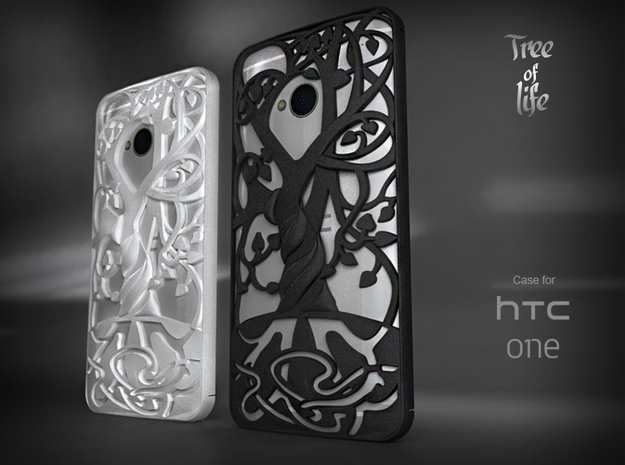 """HTC-ONE case """"Tree of life"""""""