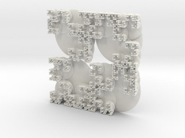 Colony in White Natural Versatile Plastic