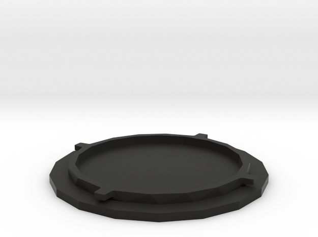 Popsocket Replacement Part in Black Natural Versatile Plastic