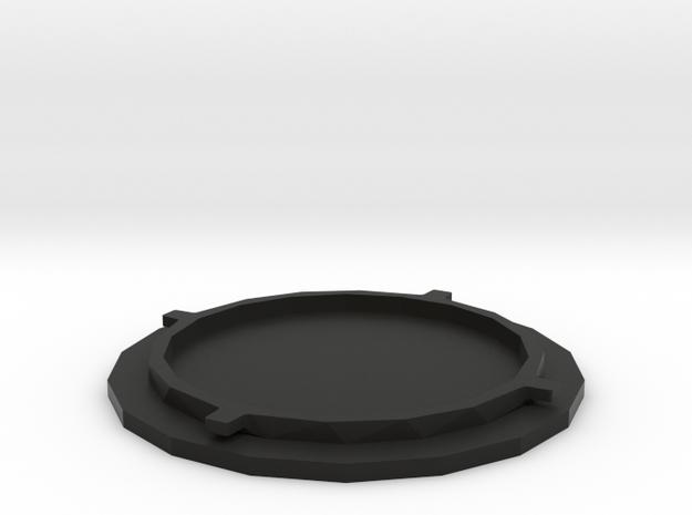 Popsocket Replacement Part in Black Natural Versatile Plastic