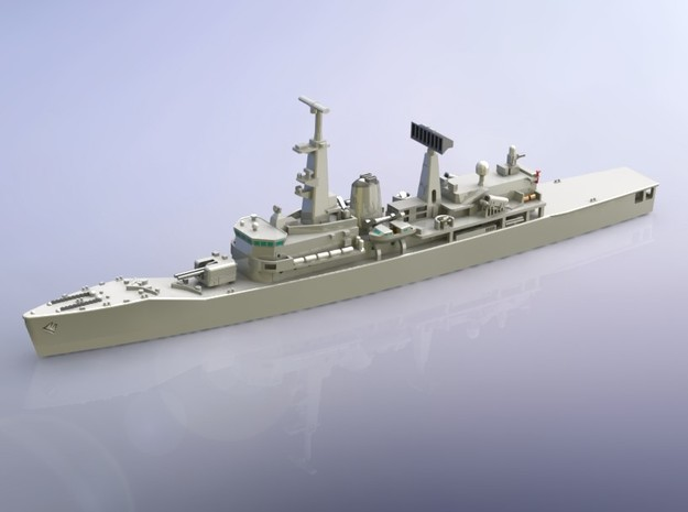 Chilean Frigate PFG-06 Almirante Condell 1/1250 in Frosted Ultra Detail