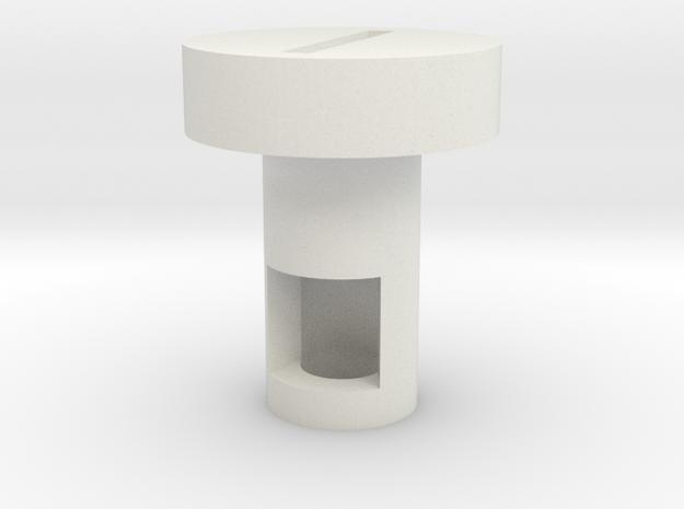 Standard Kill Key 1 in White Natural Versatile Plastic