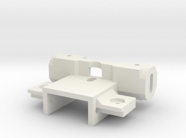 Schwingarmhalter 2,38 Achse Carrera Universal 132 in White Natural Versatile Plastic