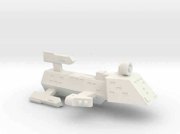 3788 Scale Kzinti Heavy Frigate (FH) SRZ in White Strong & Flexible