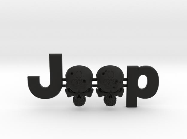 #CuzitsCustom Zombie Skulls (LG-OEM) in Black Natural Versatile Plastic