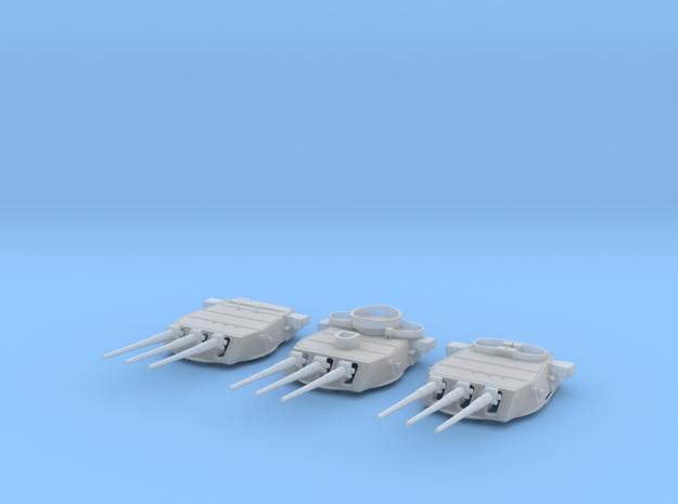 1/600 BB59 16in (410mm) 45 cal Mark 6 guns Set