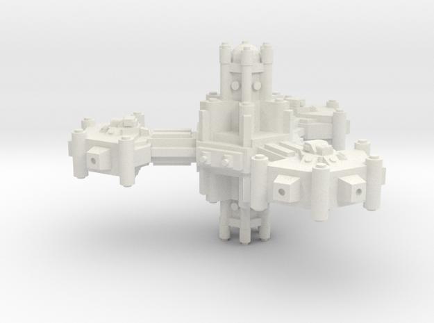 Plataforma defensa planetaria A in White Strong & Flexible