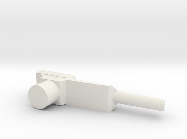 Nintendo Zapper in White Natural Versatile Plastic
