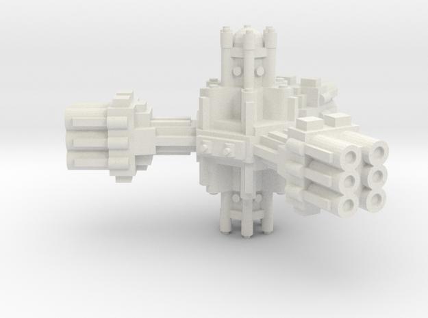 Plataforma de defensa planetaria B  in White Strong & Flexible