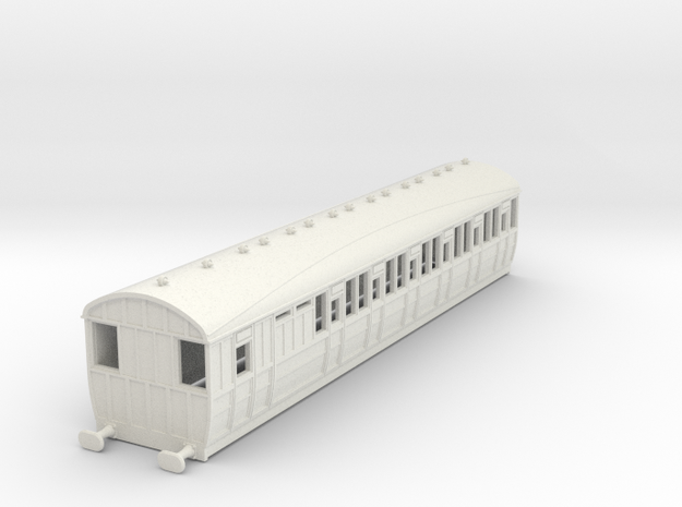 o-100-lner-quint-d85-brake-3rd-coach-5 in White Natural Versatile Plastic