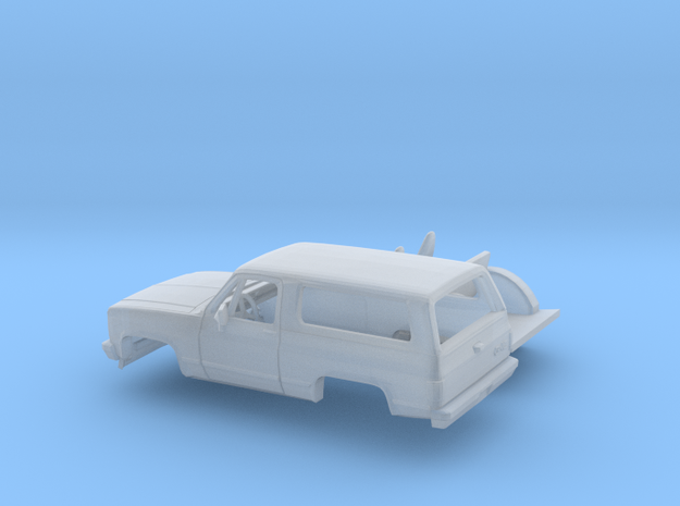 1/87 1980-88 GMC Jimmy Kit in Smooth Fine Detail Plastic