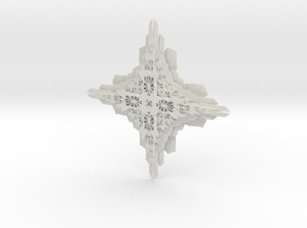 Bricky in White Natural Versatile Plastic