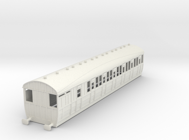 o-32-lner-quint-d80-brake-3rd-coach-5 in White Natural Versatile Plastic
