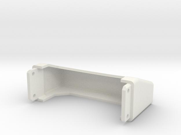 Tamiya Semi Truck Tapered Frame End - Type C in White Natural Versatile Plastic