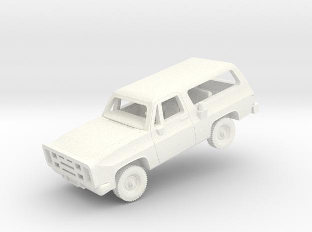 M1009 CUCV in White Processed Versatile Plastic: 1:144