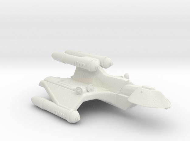 3125 Scale Romulan FireHawk-C+ Scout/Survey Ship in White Natural Versatile Plastic
