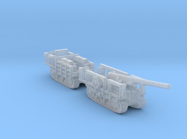 Canon de 155mm GPF 1/200  ww1 artillery  in Smooth Fine Detail Plastic