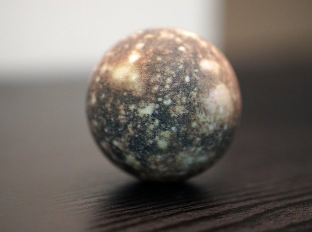 Callisto in Full Color Sandstone