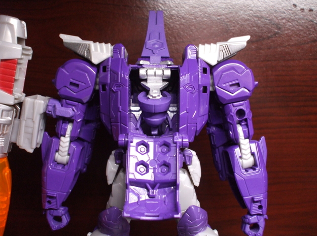 Transforming Neck Unit for TR Galvatron in Frosted Ultra Detail