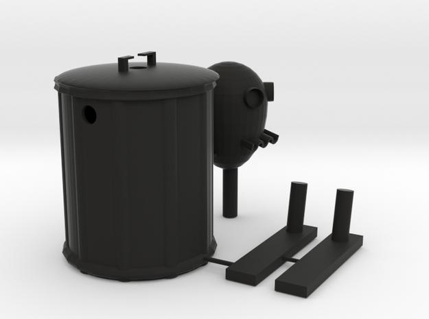 mr.can-do in Black Natural Versatile Plastic