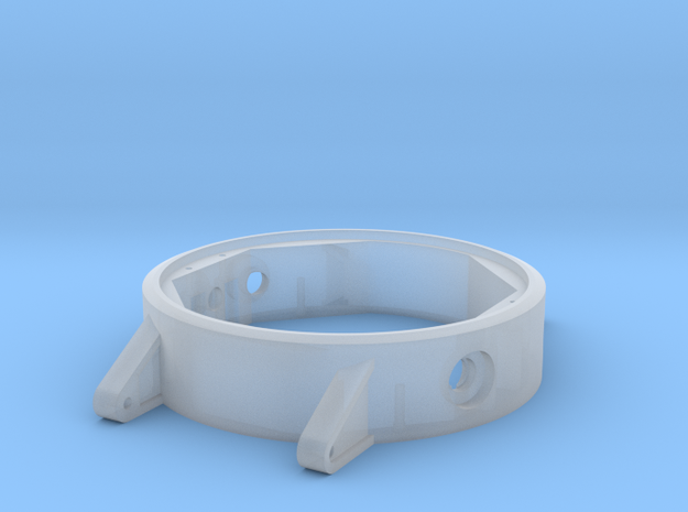 Wristband3 Case Body in Smoothest Fine Detail Plastic