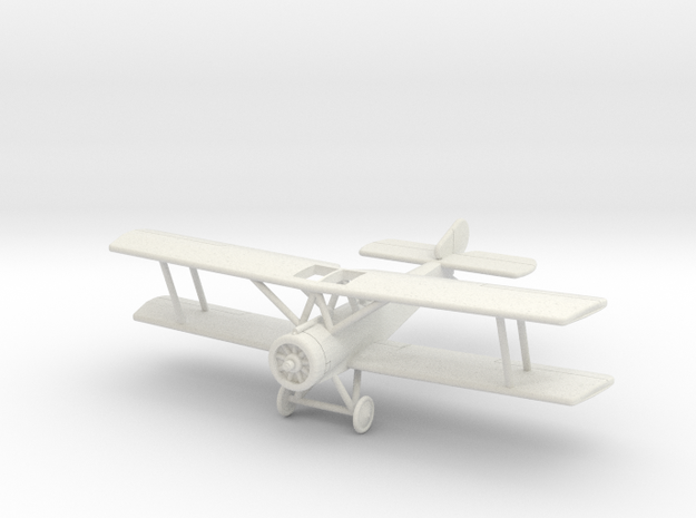 GWA15 Sopwith 1-1/2 Strutter (1/144) in White Natural Versatile Plastic