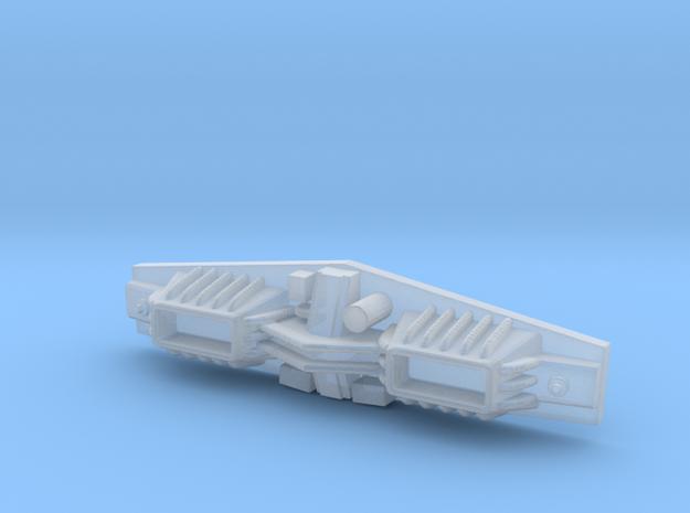 1/537 Torpedo Launcher in Smoothest Fine Detail Plastic