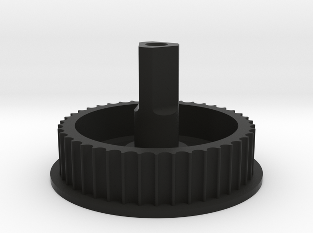 Dyson V6 DC59 Clean Head Belt Pulley 12-7642-4A in Black Natural Versatile Plastic