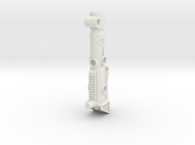 Sludge Heavy Blaster in White Natural Versatile Plastic
