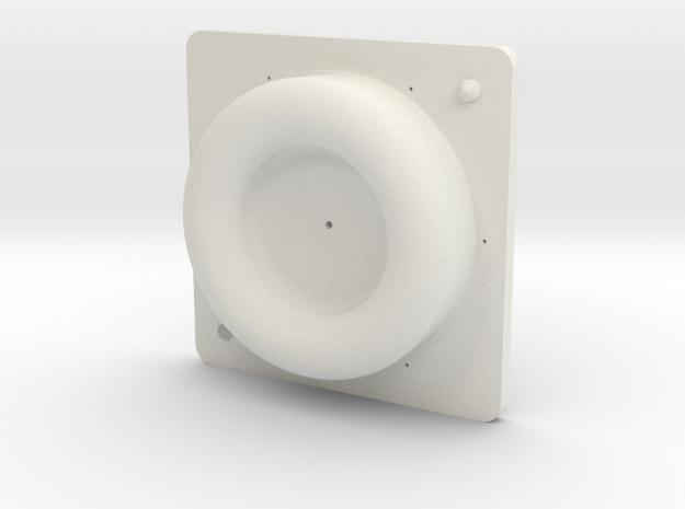 Mold Top in White Natural Versatile Plastic