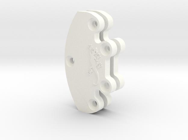 Margouillat | Rear weight carrier in White Processed Versatile Plastic