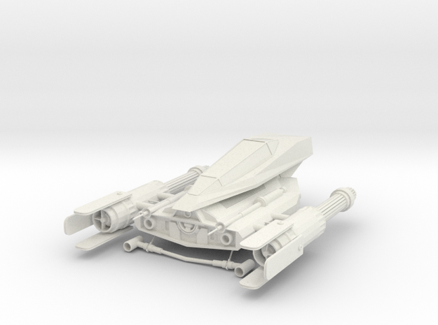 Z-90 Starspeeder in White Natural Versatile Plastic
