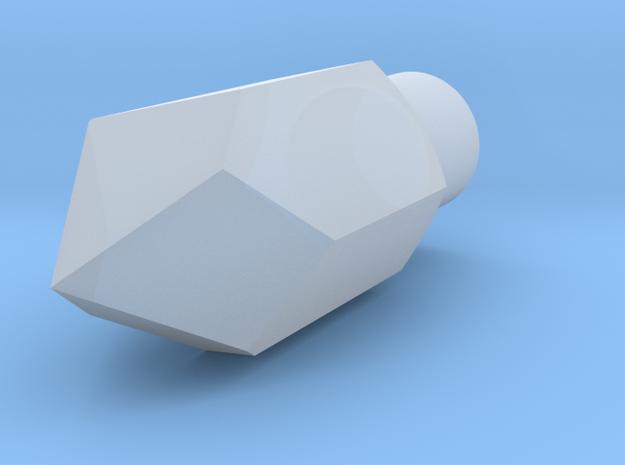 Crystal 5mm ledholder in Frosted Extreme Detail