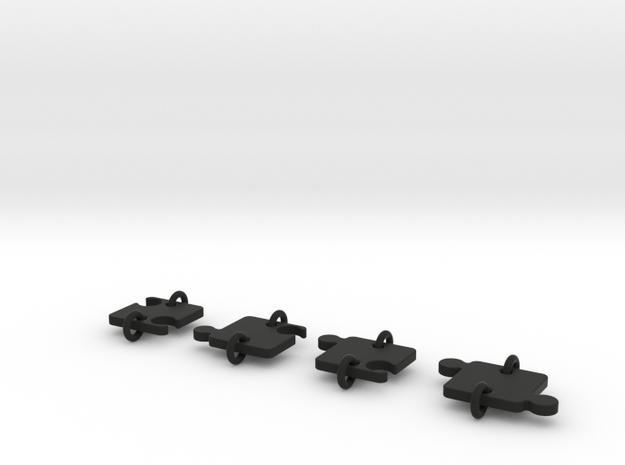 Pussel total in Black Natural Versatile Plastic