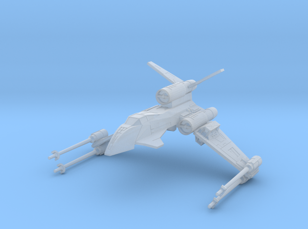Pike Republic Strike Fighter (1/270) in Smooth Fine Detail Plastic