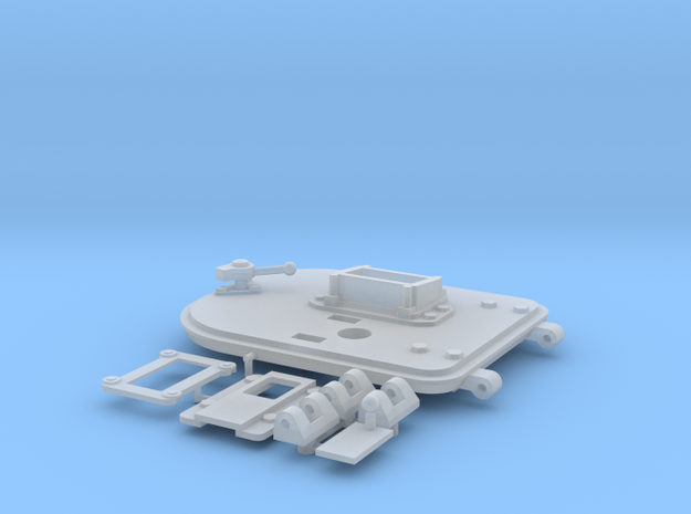 Panzer IV Ausf. D Turret Left Hatch in Smooth Fine Detail Plastic