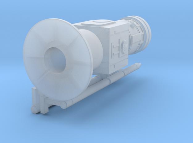 HALF! a moisture evaporator in 1:24 for diorama pu in Smooth Fine Detail Plastic