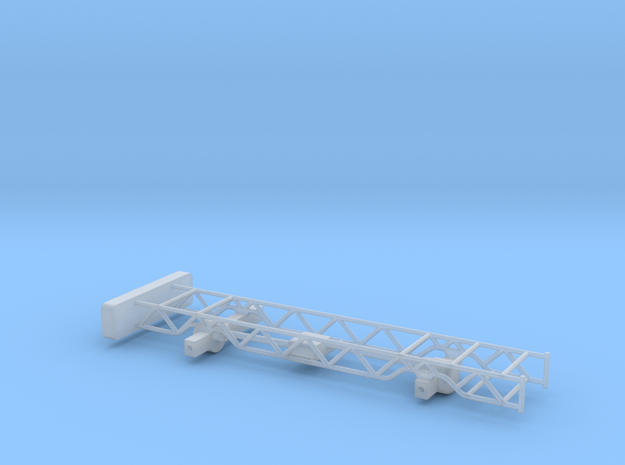 Chevy 4x4 pulling truck frame 1/64th scale in Smooth Fine Detail Plastic