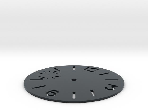 PAM sub seconds in Black Hi-Def Acrylate