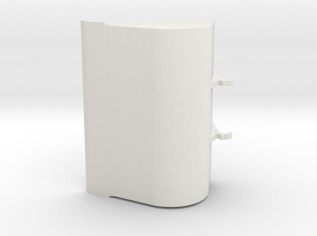 bak 2000mm 25ton in White Natural Versatile Plastic