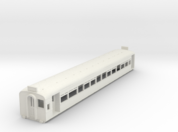 o-148-l-y-bury-third-class-coach in White Natural Versatile Plastic