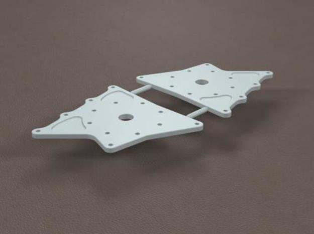 1/16 11 Inch Rearend Hard Chassis Mount in Frosted Ultra Detail