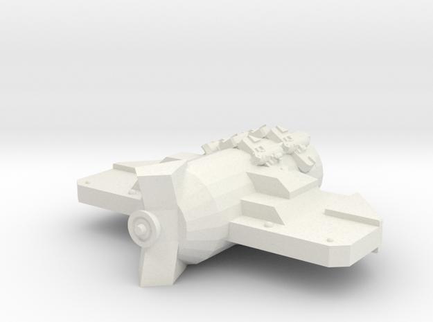 3788 Scale Probr Gunboat Tender (PFT) MGL in White Natural Versatile Plastic