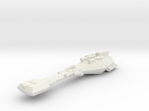 3788 Scale Trobrin Refitted Gunboat Tender (PFT+) in White Natural Versatile Plastic