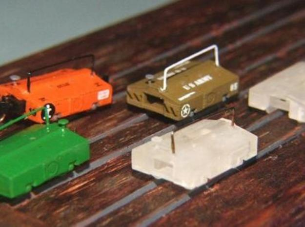 Scale Test Car Set - Z scale in Smooth Fine Detail Plastic